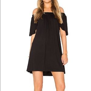 De Lacy Los Angeles Marley black modal dress